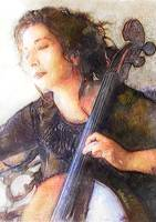 Viki Bello Playing Cello