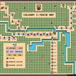 """Calgary C-Train Map Super Mario 3 World 1 Style"" by originaldave77"