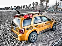 California BayWatch Car Unit