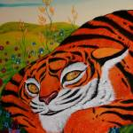 """""""LEFT SIDE Timothy and the Tiger Diptych"""" by deathcockroach"""