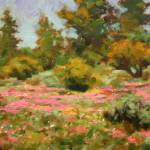 """Impressionist Plein Air Landscape  ""Meadow Flowers"" by kevinmccain"