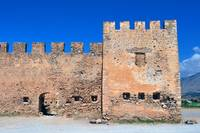 Frangocastello castle, Crete, Greece.