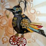 """Gladiator Bird"" by RanaLee"