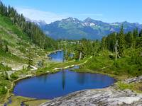 Bagley Lakes - Mount Baker Wilderness