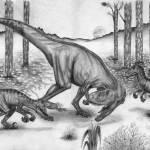 """Dinosaur Battle"" by Thalassinos"