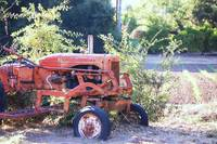 retired tractor