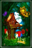 Shroom Valley Whimsical Fantasy Artwork