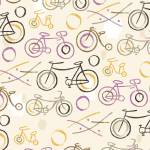 """Bicycles, Bicycles"" by SeanKaneStudio"