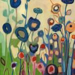 """""""Meet Me In My Garden Dreams Diptych Part 1"""" by JENLO"""