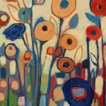 """""""Meet Me In My Garden Dreams Triptych Part 2"""" by JENLO"""