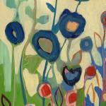 """""""Meet Me In My Garden Dreams Triptych Part 1"""" by JENLO"""
