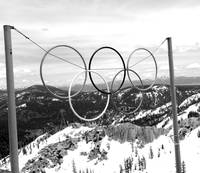 olympic rings in Tahoe