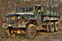HDR Army Truck