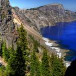 """Crater Lake West Rim"" by louisruthphotography"