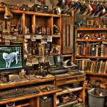 """HDR Man Cave"" by louisruthphotography"