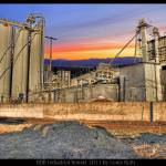 """Industrial Rainbow Sunset"" by louisruthphotography"