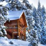 """HDR SNOWED INN"" by louisruthphotography"