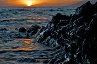 Lava Rock Sunset II