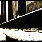 """Rails in The Rain"" by angelstudio54"