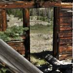 """Ghost Town Doorway in Kirwin Wyoming"" by SamSherman"