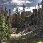 """Kirwin Ghost Town Mine Entrance"" by SamSherman"
