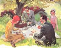 STYLISH 1930'S PICNIC