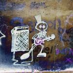 """Slash Busking Graffiti"" by MalcNewell"
