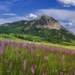 """Crested Butte Mountain"" by wishiwsthr"