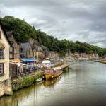 """Dinan Port, Brittany, France"" by AnnG"