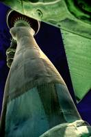 Statue of Liberty Partial Arm & Crown View Poster