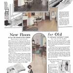 """VINTAGE WOOD FLOORING AD"" by homegear"
