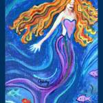 """Mermaid"" by paintingsbygretzky"
