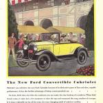 """1930 FORD CONVERTIBLE"" by homegear"