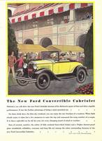 1930 FORD CONVERTIBLE