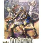 """Dinosaur Basketball"" by MudgeStudios"
