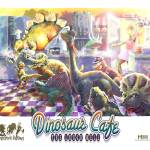 """Dinosaur Cafe"" by MudgeStudios"