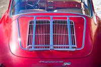 1963 Red Porsche 356B Super 90 Back