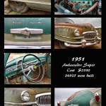 """1951 Nash Ambassador Hydramatic Poster"" by lightningman"