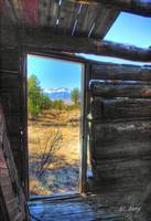 HDR cabin door