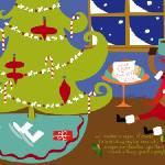 """""""santa-reindeer"""" by TheyDrawandCook"""