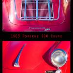 """1963 Red Porsche S90 Coupe Poster"" by lightningman"
