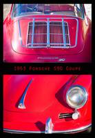 1963 Red Porsche S90 Coupe Poster