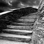 """Dolbadarn Castle Steps"" by duncanrowe"