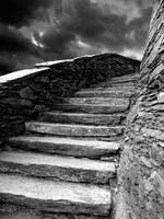 Dolbadarn Castle Steps