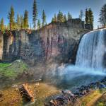"""Rainbow Falls, Mammoth Lakes, CA"" by natesiggard"