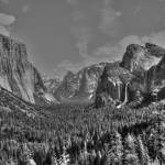 """Yosemite Tunnel View BW"" by KlementGallery"