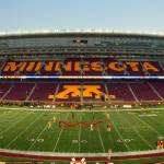 """Gophers Stadium Pan"" by KlementGallery"