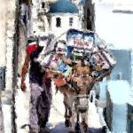 """""""Man and His Pack Mule"""" by JennyHudson"""