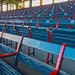 """Fenway Bleachers"" by michaelyeager"