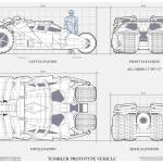 """Tumbler Batmobile Blueprint"" by originaldave77"